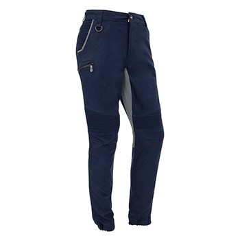 ZP340 - Mens Streetworx Stretch Pant Navy Front