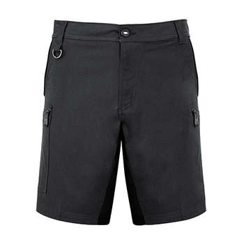 ZS340 - Mens Streetworx Stretch Short Charcoal Front