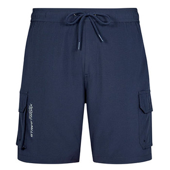 ZS240 - Mens Streetworx Stretch Work Board Short - Navy