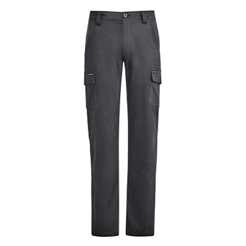 ZP505 - Mens Lightweight Drill Cargo Pant Charcoal Front