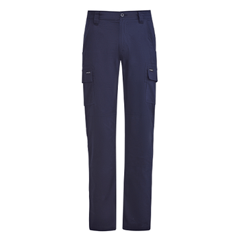 ZP505 - Mens Lightweight Drill Cargo Pant Navy Front