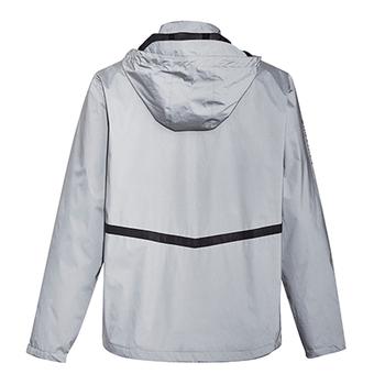 ZJ380 - Unisex Streetworx Reflective Waterproof Jacket BACK