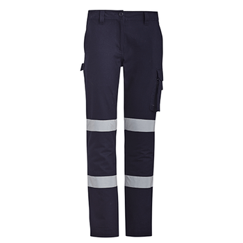 ZP720 - Womens Bio Motion Taped Pant Navy Front