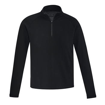 ZT766 - Mens Merino Wool Mid-Layer Pullover FRONT