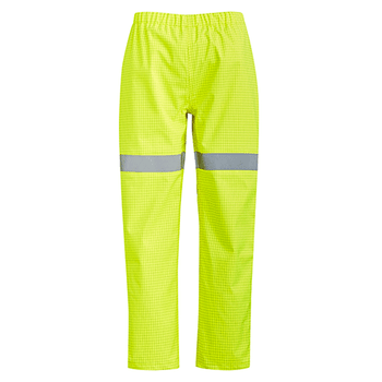 ZP902 - Mens Arc Rated Waterproof Pants Yellow Front