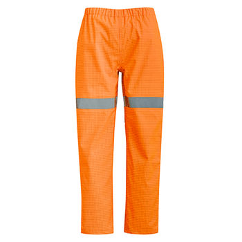 ZP902 - Mens Arc Rated Waterproof Pants Orange Front
