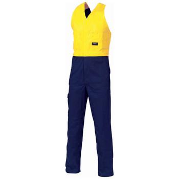 Yellow / Navy
