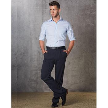 WP01R - Mens Regular Permanent Press Pants - Display