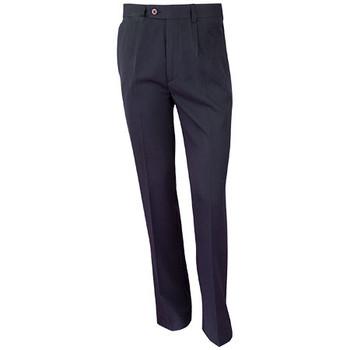 WP01R - Mens Regular Permanent Press Pants - Navy