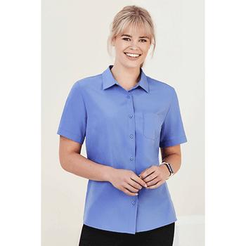 CS947LS - Womens Florence Short Sleeve Shirt Display