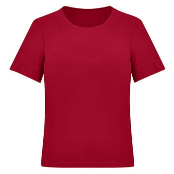 CS952LS - Womens Soft Jersey T-Top Cherry Front