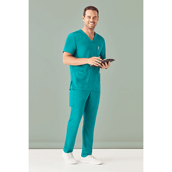 CSP946ML - Mens Multi-Pocket Scrub Pant Display