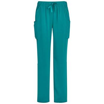 CSP944LL - Womens Straight Leg Scrub Pant - Teal