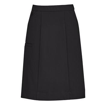 Charcoal - CL956LS Womens Comfort Waist Cargo Skirt - Biz Care