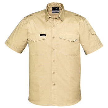 ZW405 - Mens Rugged Cooling S/S Shirt