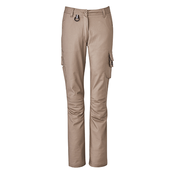 ZP704 - Womens Rugged Cooling Pant Khaki Front