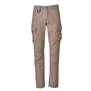 ZP360 - Mens Streetworx Curved Cargo Pant Khaki Front