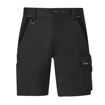 ZS550 - Mens Streetworx Tough Short Charcoal Front