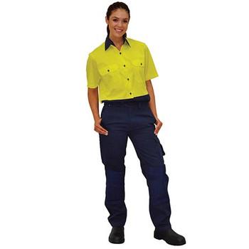WP10 - Ladies Durable Work Pants - Display