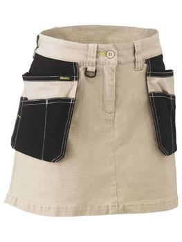 BLS1024 - Womens Flex & Move Stretch Cotton Skort