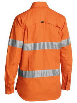 BL6416T - Womens 3M Taped Hi Vis X Airflow Ripstop Shirt
