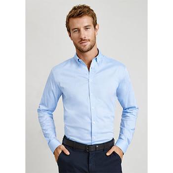 S016ML - Camden Mens Long Sleeve Shirt - Display