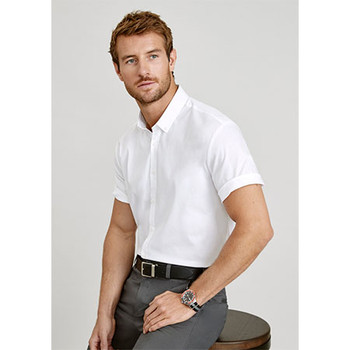 S016MS - Camden Mens Short Sleeve Shirt - Display