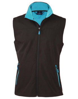 JK45 - Mens Rosewall Soft Shell Vest