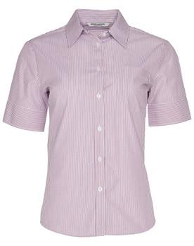 M8234 - Womens Balance Stripe Short Sleeve Shirt
