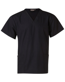 M7630 - Unisex Scrubs Short Sleeve Tunic Top