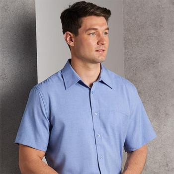 M7600S - Mens CoolDry Short Sleeve Shirt - Display