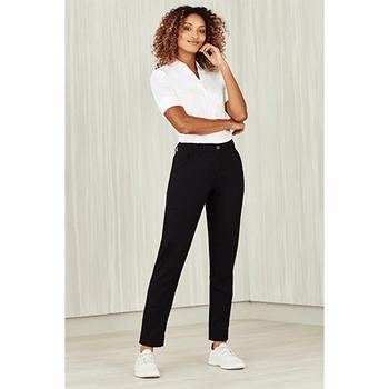 CL953LL - Womens Comfort Waist Slim Leg Pant Display