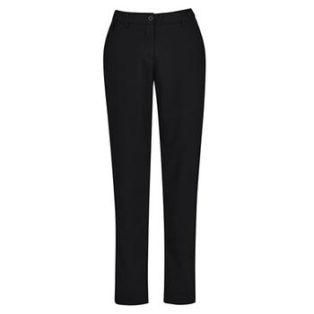 CL953LL - Womens Comfort Waist Slim Leg Pant Black