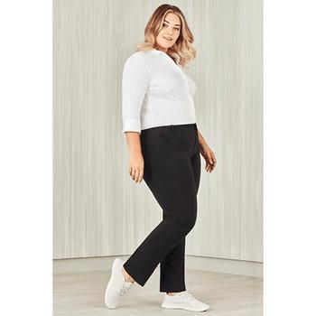 CL955LL - Womens Comfort Waist Straight Leg Pant Display