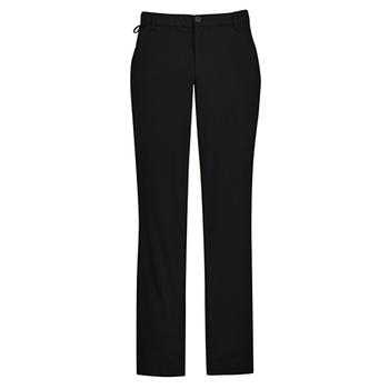 CL958ML - Mens Comfort Waist Flat Front Pant Black