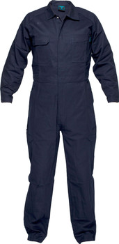 MW915 - Regular Weight Navy Coverall