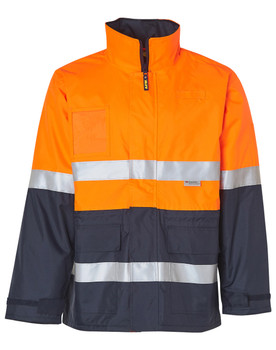 SW50 - High Visibility Long Line Jacket with 3M Reflective Tapes