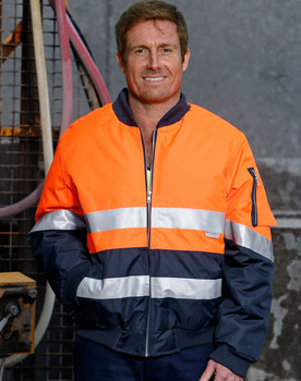 SW16A - Hi-Vis Two Tone Flying Jacket - Display