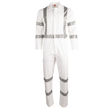 WA09HV - Mens Biomotion Nightwear Coverall with X Back Tape Configuration - Front