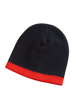 Black-Red - 4240 Skull Beanie