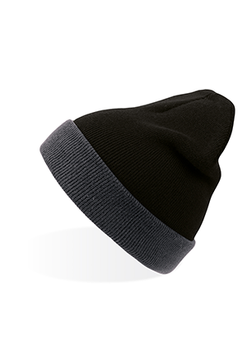 Black-Grey - A4300 Wind Beanie