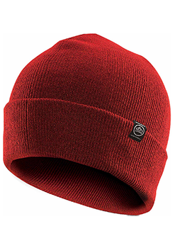 Bright Red - BTK-1 Dockside Knit Beanie