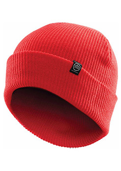 Bright Red - BTV-1 Vintage Knit Beanie