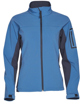 JK32 - Ladies Whistler Contrast Softshell Jacket