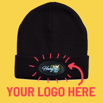 4229 - Acrylic Beanie - Sublimated Badge Included - 20 Units Minimum