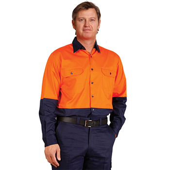 . - SW58 Long Sleeve Safety Shirt