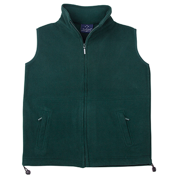 Bottle Green - PF02 FREEDOM Polar Fleece Vest- Unisex - Winning Spirit