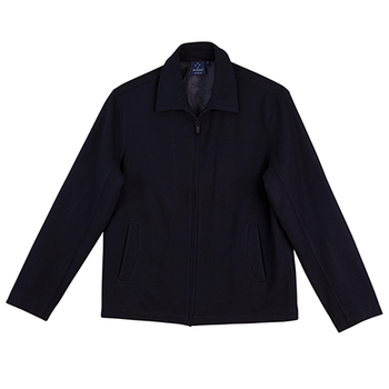 Navy - JK14 FLINDERS Wool Blend Corporate Jacket Womens - Winning Spirit