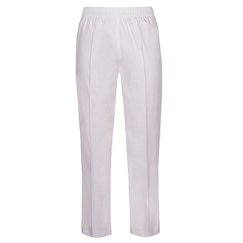 White - 5ENP Elasticated No Pocket Pant - JBs Wear