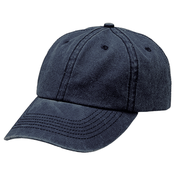 Navy - 4397 Washed Chino Cap - Legend